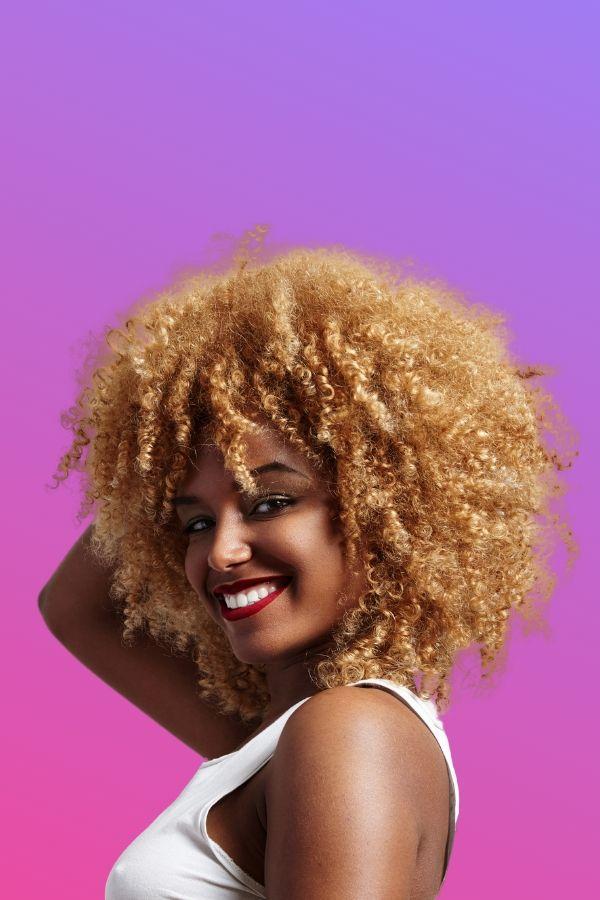 woman hair growth