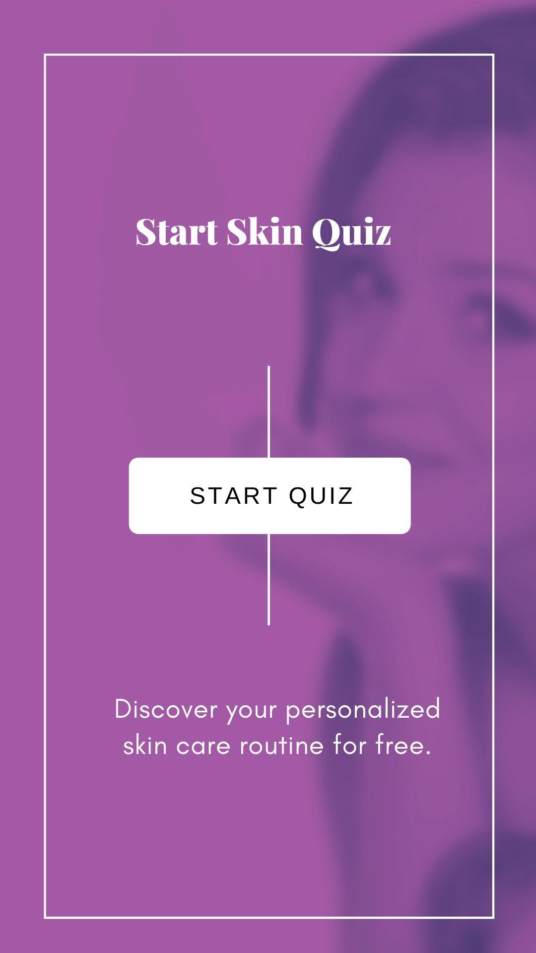 skin quiz